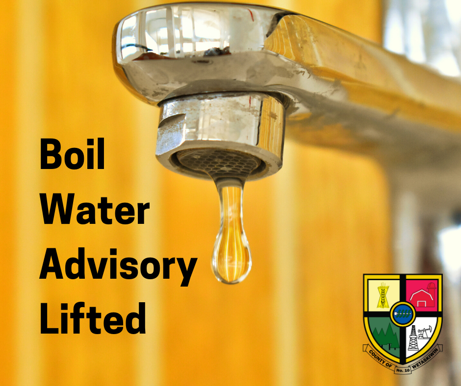 Boil Water Advisory update