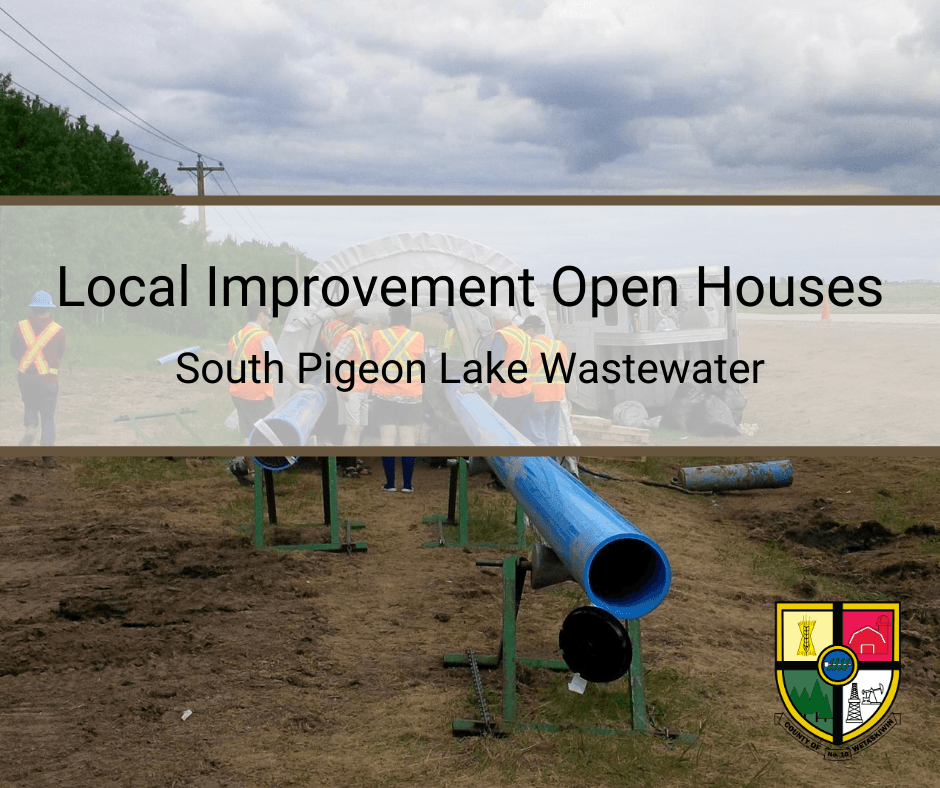 Local Improvement South Pigeon Lake Wasterwater