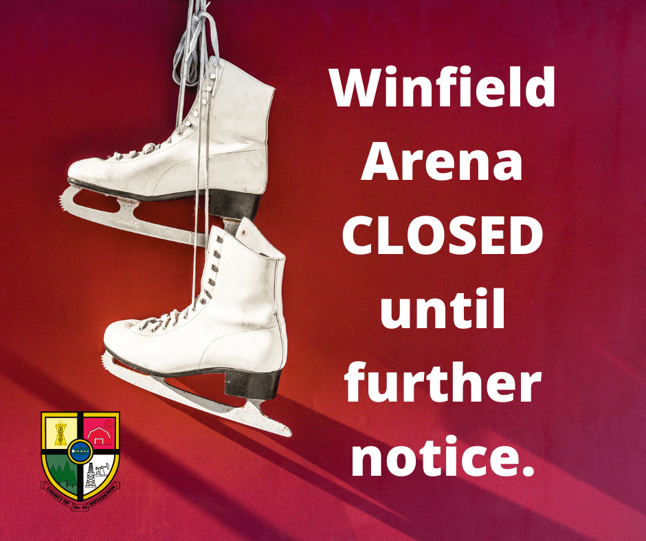 Winfield Arena CLOSED until further notice