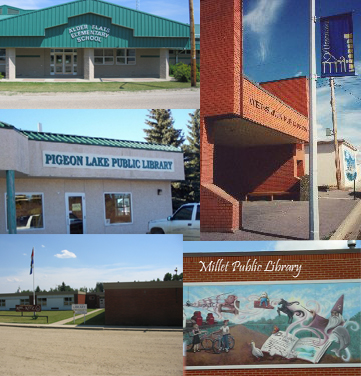 Pictures of the Libraries in Wetaskiwin County