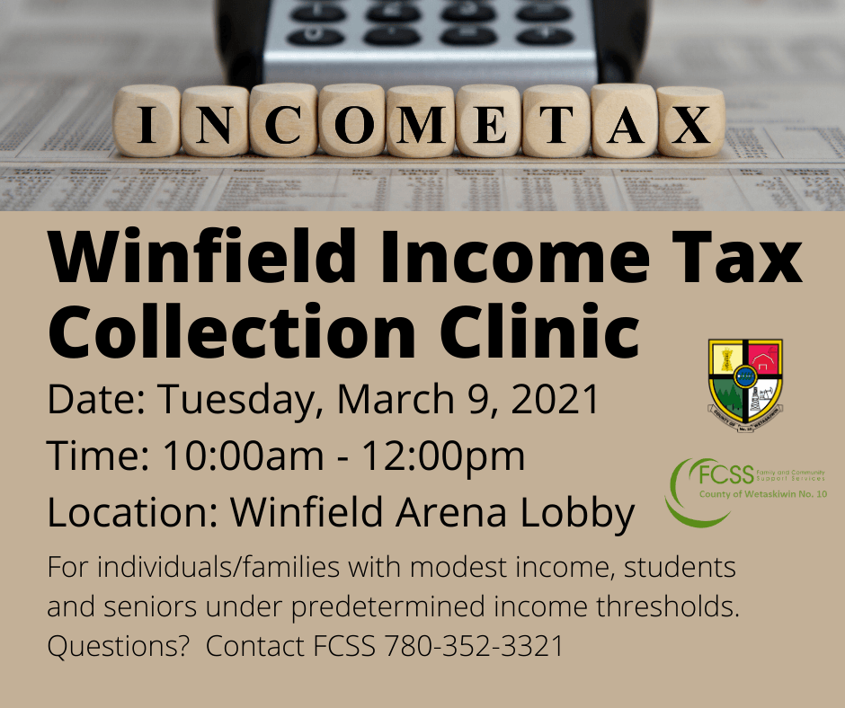 Winfield Tax Collection Clinic